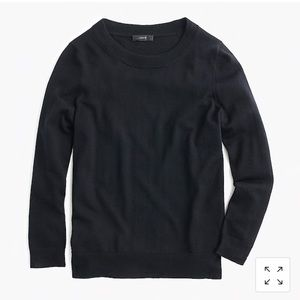 J. Crew Tippi Sweater in Black